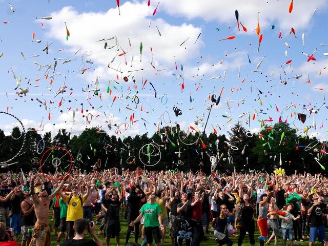 Festival på sommaren